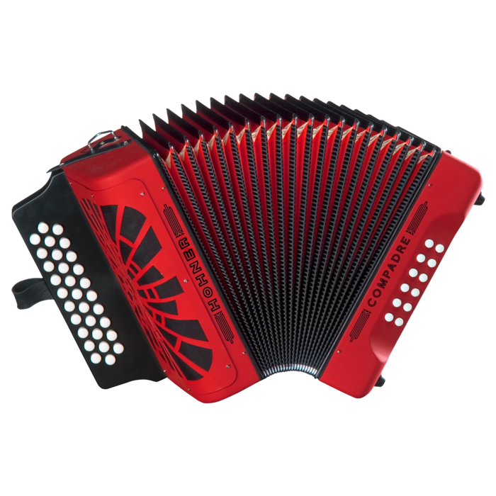 Hohner Compadre ADG, red. Gig Bag