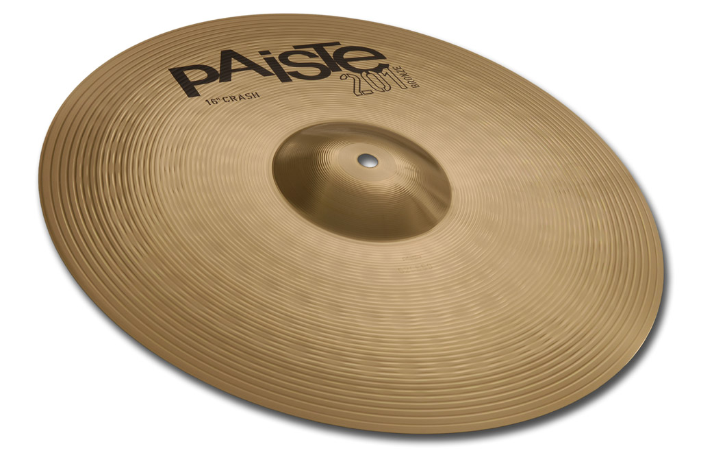 PAISTE 201 BRONZE CRASH 40/16