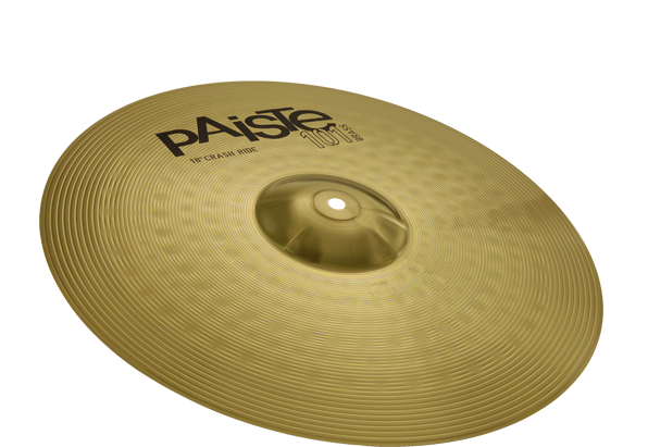 PAISTE 101 BRASS CRASH/RIDE 45/18