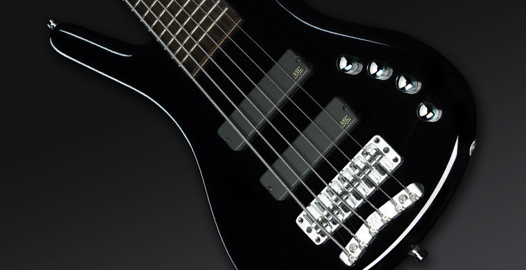 Warwick RB Corvette Basic 6 Black HP CHROME