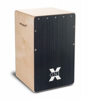 Cajon Schlagwerk CP160 X-One Hard Coal Stripes