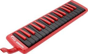 Hohner Melodica Fire 32 red-black
