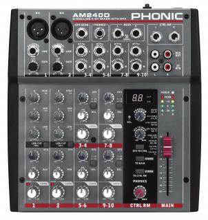 Analogový mix Phonic AM 240D