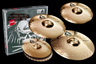 "PAISTE ALPHA ""BRILLIANT"" UNIVERSAL SET  14/16/20 + 18"