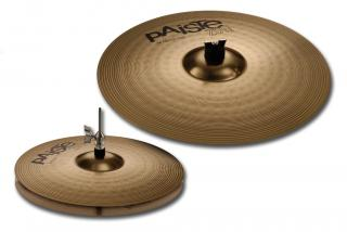 "PAISTE 201 BRONZE SADA 14"" HI-HAT/18"" CRASH/RIDE V KARTONU PAISTE"