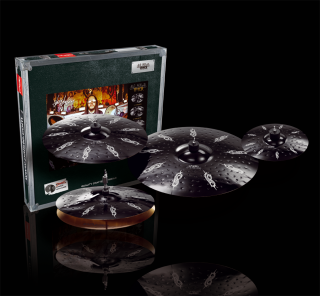 "PAISTE BLACK ALPHA JJ HYPER SET 14/16/20"" + 26/10"" SPLASH zdarma"