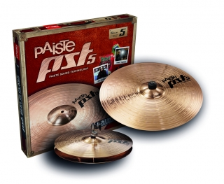 "PAISTE PST 5 NEW ESSENTIAL SADA 14""MEDIUM-HIH + 18""CR/RIDE V KARTONU"