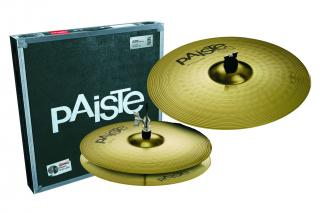 "PAISTE 101 BRASS SADA 14"" HI-HAT/18""CRASH/RIDE  V KART.PAISTE"