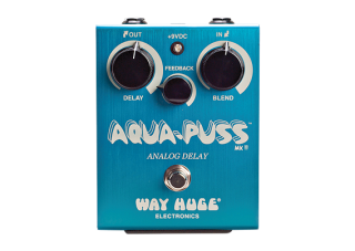 Dunlop WHE701 Way Huge Aqua Puss analog delay pedál