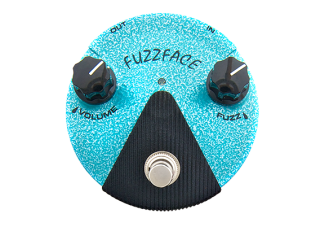 Dunlop FFM3 Hendrix Mini Fuzz Face distortion, světle modrý