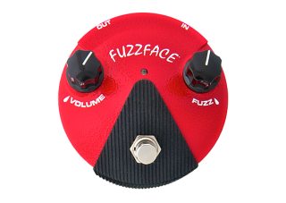 Dunlop FFM2 Germanium Mini Fuzz Face, červený
