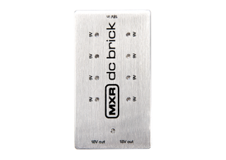 Dunlop M237 MXR DC brick power supply, napájí 9V i 18V pedály