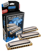 Hohner Blues Harp MS 532/20 Pro Pack (C, G, A)