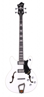 Hagstrom Viking Bass - White