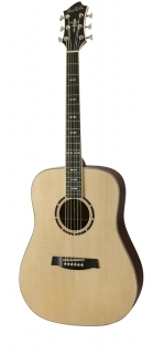 Hagstrom Siljan Dreadnought - Natural