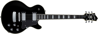 Hagstrom Super Swede - Black Gloss