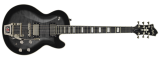 Hagstrom Tremar Super Swede - Cosmic Black Burst