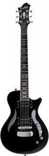 Hagstrom Ultra Swede - Black Gloss
