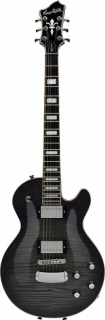 Hagstrom Northen Super Swede 3A Flame - Cosmic Black Burst