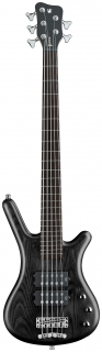 Warwick RB Corvette $$ 5 Black OFC   CHROME