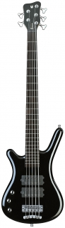 Warwick RB Corvette $$ 5 L Black HP    CHROME