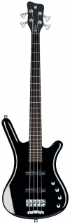 Warwick RB Corvette Basic 4  Black HP CHROME