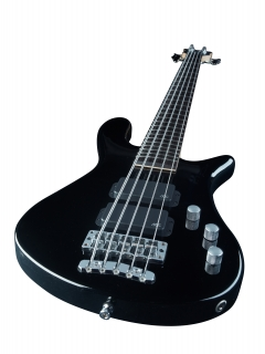 Warwick RB Streamer Std 5 Black HP CHROME