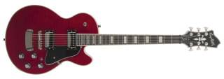 Hagstrom Super Swede - Wild Cherry Transparent