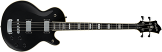 Hagstrom Swede Bass - Black Gloss