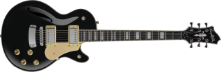 Hagstrom Swede-F - Black Gloss