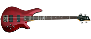 Schecter C-4 BASS SGR BY SCHECTER  M RED