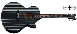 Schecter SYNYSTER GATES-AC GA SC-ACOUSTIC BLK