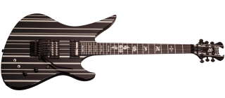Schecter SYNYSTER GATES CUSTOM-S  BLK/SILV