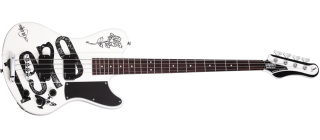 Schecter SIMON GALLUP ULTRA BASS WHT/BLK