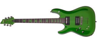 Schecter KENNY HICKEY LH GREEN
