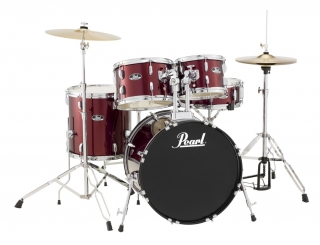 Bicí souprava Pearl Roadshow P RS505C  Wine Red