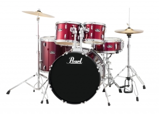 Bicí souprava Pearl Roadshow P RS525SC Wine Red